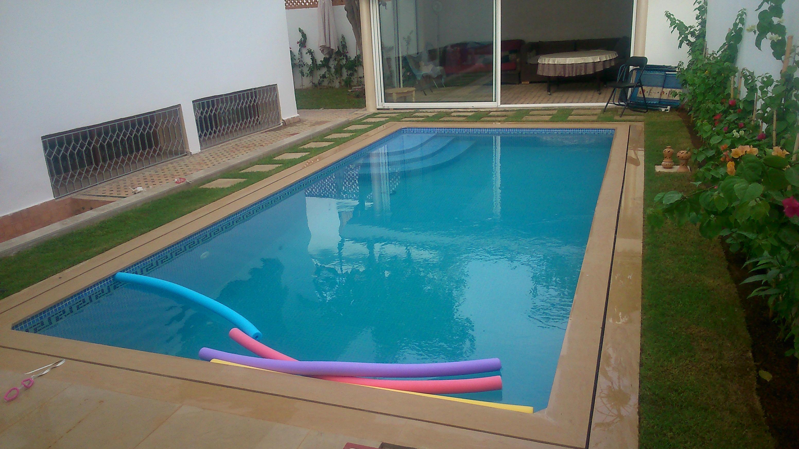 Les piscines chez isobati ma sarl maroc for Construction piscine rabat